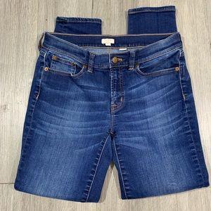 J.Crew Patriotic wash skinny jean size 28X28